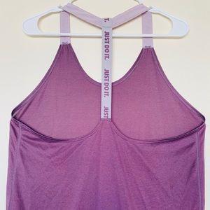 Nike's dri fit purple shirt